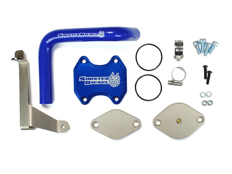 Sinister Diesel SD-EGRD-6 7C-07 EGR & Cooler Delete Kit