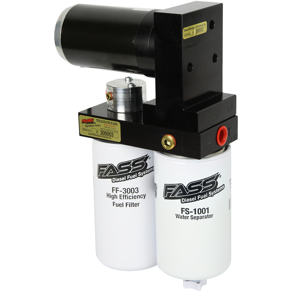 FASS TS D08 095G 95gph Titanium Signature Series Fuel Pump